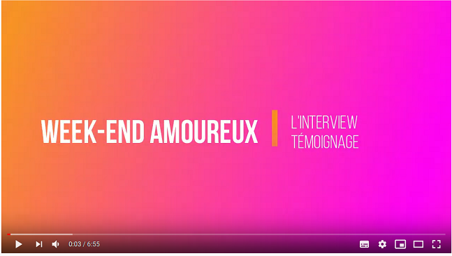 Interview WE amoureux